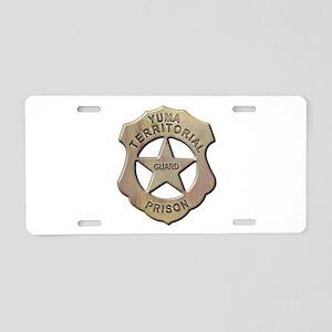 Yuma Territorial Prison Guard Aluminum License Pla