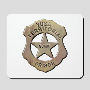 Yuma Territorial Prison Guard Mousepad
