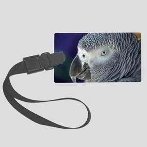 African Gray Large Luggage Tag