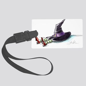Shrunk Witch image_edited-1-909 Luggage Tag