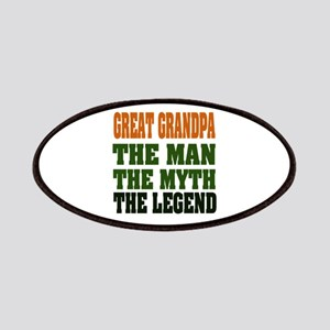 Great Grandpa The Legend Patches