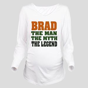 Brad The Legend Long Sleeve Maternity T-Shirt