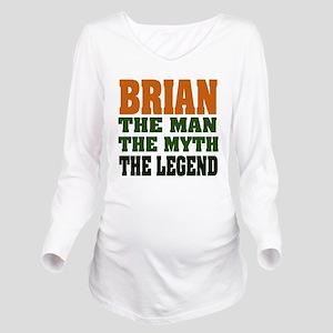 Brian The Legend Long Sleeve Maternity T-Shirt