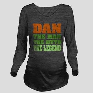 Dan The Legend Long Sleeve Maternity T-Shirt