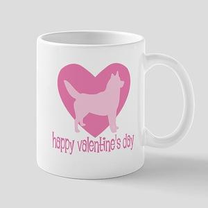 Husky Valentine Mug