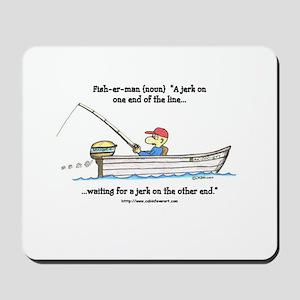 defintion: fisherman Mousepad