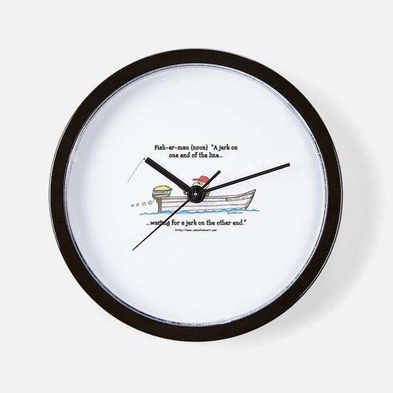 defintion: fisherman Wall Clock