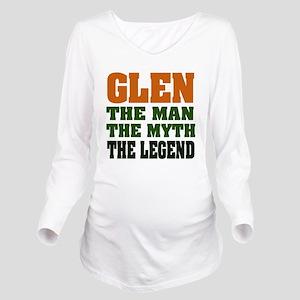 Glen The Legend Long Sleeve Maternity T-Shirt
