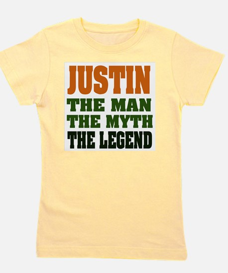 Justin The Legend Girl's Tee