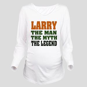 Larry The Legend Long Sleeve Maternity T-Shirt