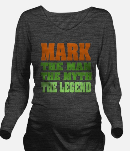 Mark The Legend Long Sleeve Maternity T-Shirt