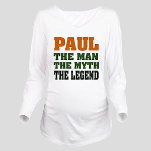 paulMML Long Sleeve Maternity T-Shirt