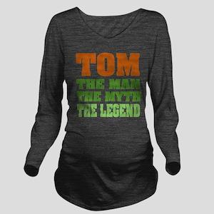 Tom The Legend Long Sleeve Maternity T-Shirt
