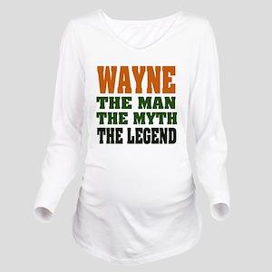 Wayne The Legend Long Sleeve Maternity T-Shirt