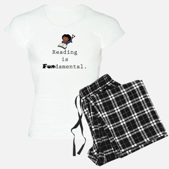 Reading is FUNdamental! Pajamas