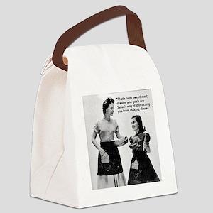 Dinner-Philosophy Canvas Lunch Bag