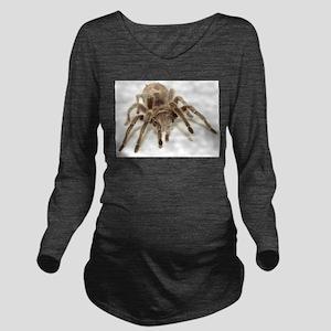 Tarantula Long Sleeve Maternity T-Shirt
