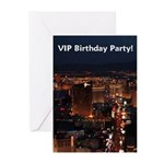VIP Birthday Party! Personalized Cards pkg 6
