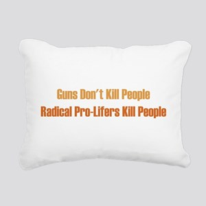 gunsdontkill Rectangular Canvas Pillow
