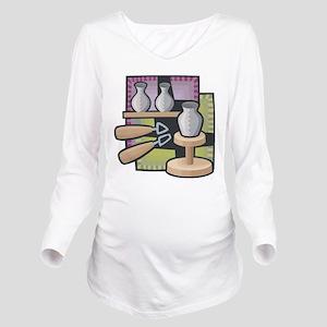 Potter Long Sleeve Maternity T-Shirt