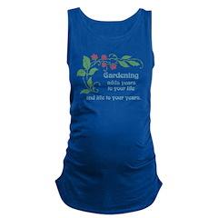 Gardening adds Years Maternity Tank Top