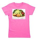 grow your veggies Girl's Tee