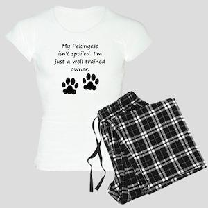 Well Trained Pekingese Owner Pajamas