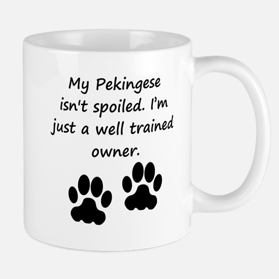 Well Trained Pekingese Owner Mugs