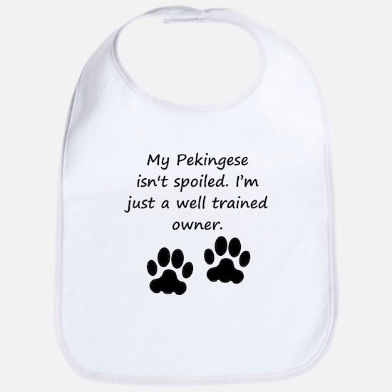 Well Trained Pekingese Owner Bib