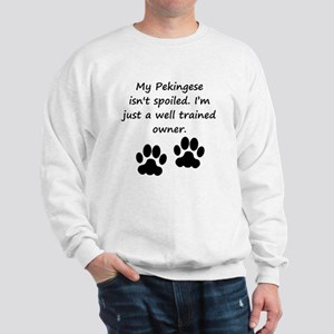 Well Trained Pekingese Owner Sweatshirt