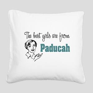 coolestgirlsPaducah Square Canvas Pillow