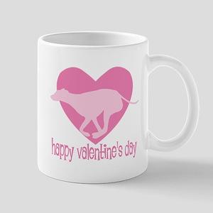 Greyhound Valentine Mug