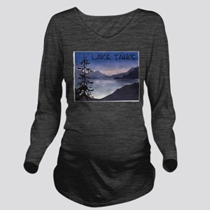 Lake Tahoe Long Sleeve Maternity T-Shirt