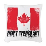 Ski tremblant Woven Pillows