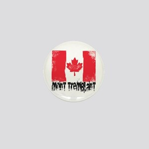 Mont-Tremblant Grunge Flag Mini Button