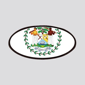 Coat of arms of Belize Patches