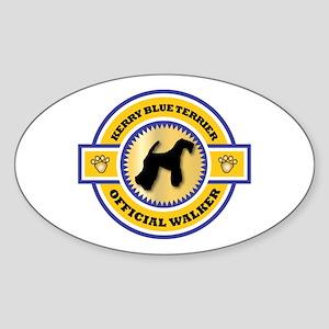 Kerry Walker Oval Sticker