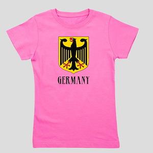 German Coat of Arms Girl's Tee