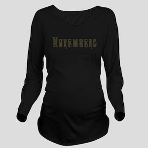Nuremberg Long Sleeve Maternity T-Shirt