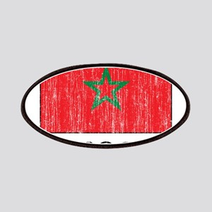 Morocco Flag Patches