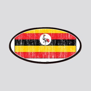 Ugandan Flag Patches