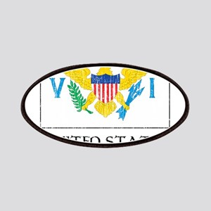 United States Virgin Islands Flag Patches