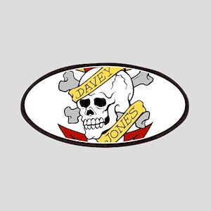 Davy Jones Pirate Insignia Patches