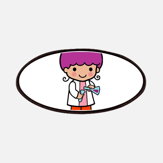 Future Scientist - girl Patches