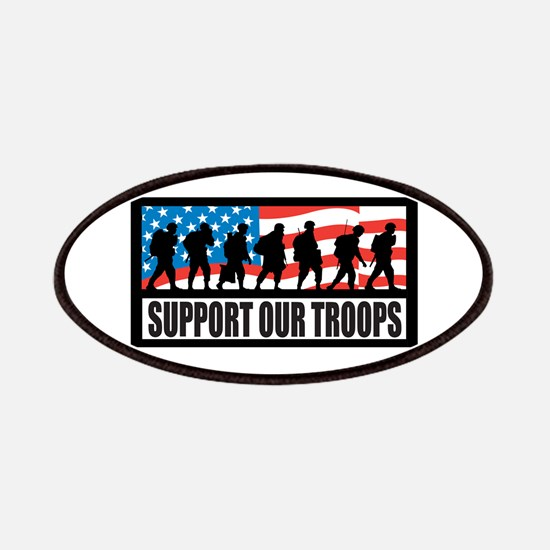 Support our troops - Infantry Patches