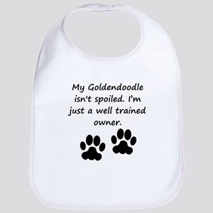 Well Trained Goldendoodle Owner Bib