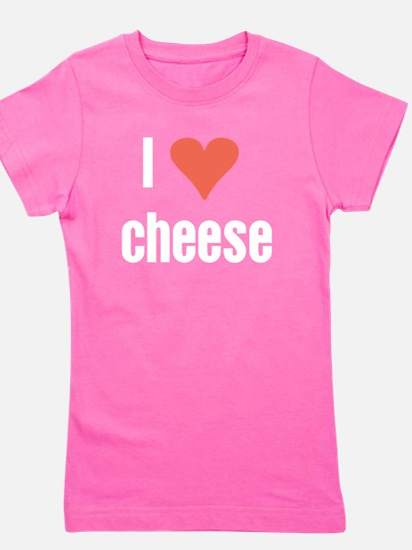 I Love cheese Girl's Tee