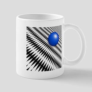 Abstract with Blue Mug