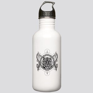 Tiger and Twin Dragons Water Bottle