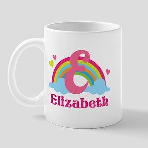 Personalized E Monogram Mugs